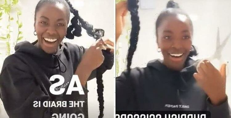 Strictlys AJ Odudu suddenly chops off hair as she tells partner Kai playtimes over!