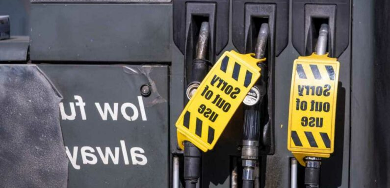 Supermarket petrol stations including Asda and Tesco issue update on fuel shortages