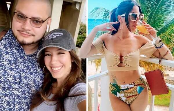 Teen Mom star Vee Rivera shows off her incredible figure and tattoo in bikini while on vacation with husband Jo