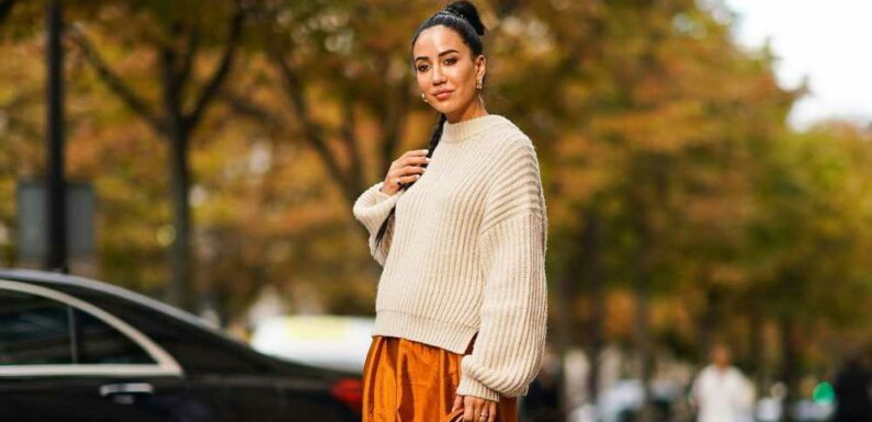 This $36 Chunky Knit Sweater Gets Shoppers Compliments Everywhere They Go