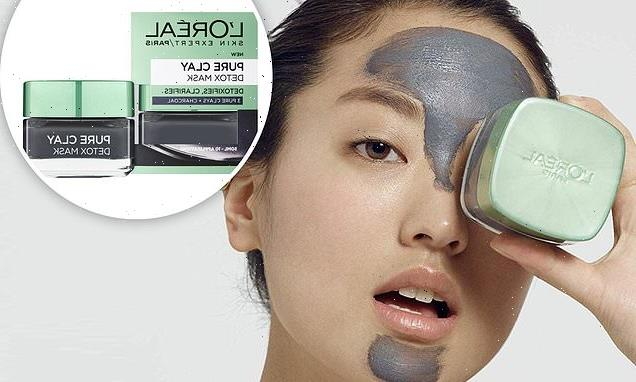 This bestselling charcoal face mask is now under £4