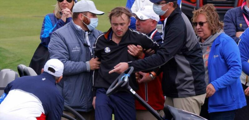 Tom Felton was smiling and joking on golf course before sudden collapse