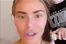 Towie star Chloe Sims' rarely-seen daughter Madison burns her as she gives mum hair makeover
