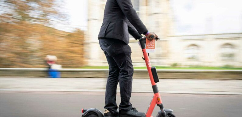 Trendy e-scooters were responsible for nearly 500 injuries and one death last year