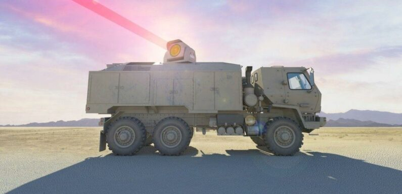 UK military to fit tanks and warships with 'laser cannons'