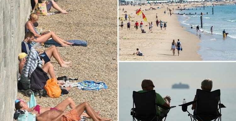 UK weather: Brits bask in 23C heat – with THREE more days of glorious sun on the way in hot September