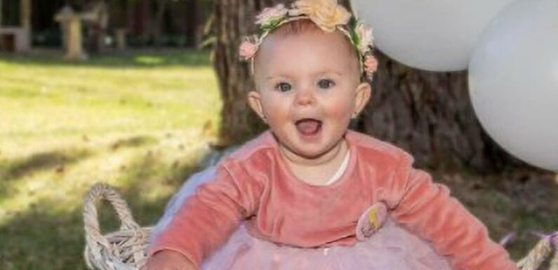 Warning as baby girl, 1, dies a week after choking on a COOKIE in front of her horrified parents