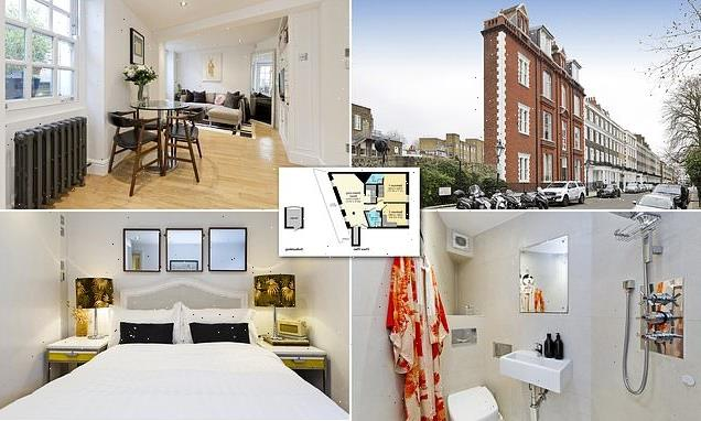 'Tardis-style' London flat measuring 13ft wide on market for £795,000
