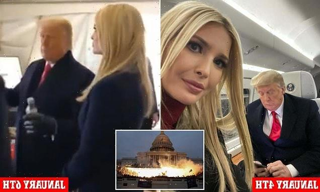 'You need to let this go' Ivanka told Trump as Capitol riot unfolded