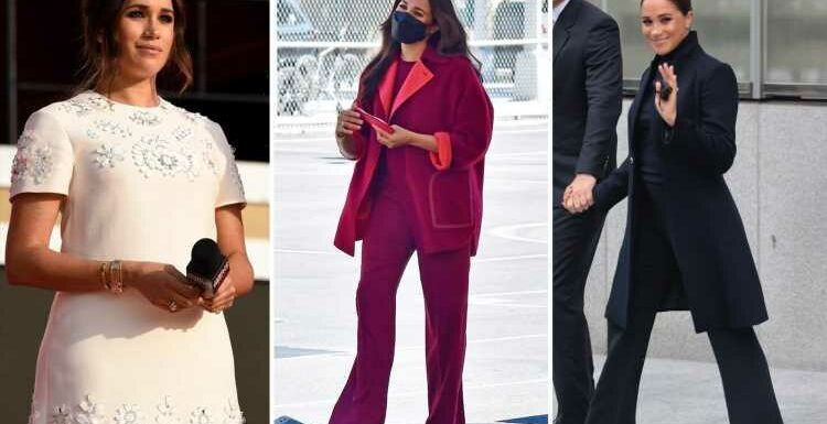 'I'm innocent, dominant and mean business' – what Meghan Markle's New York outfits really revealed