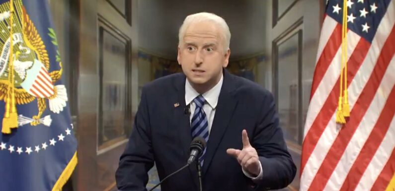 'SNL' Debuts New Joe Biden in Cold Open Skewering the Democrats' Bad Summer