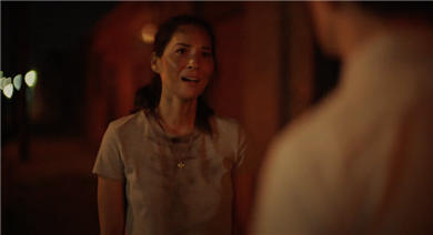 'Violet' Trailer: Justin Theroux Is the Voice Inside Olivia Munn's Head in Hollywood Thriller