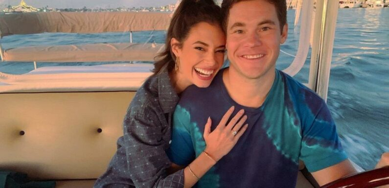 Adam Devine Weds Chloe Bridges After Two Years of Engagement