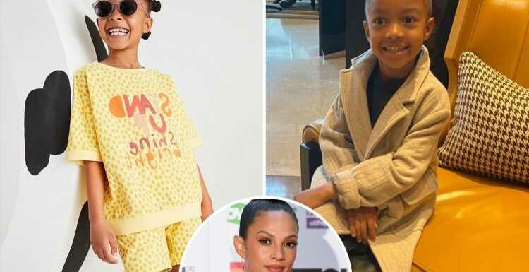 Alesha Dixon shares pictures of her rarely seen daughter Azura as she turns eight