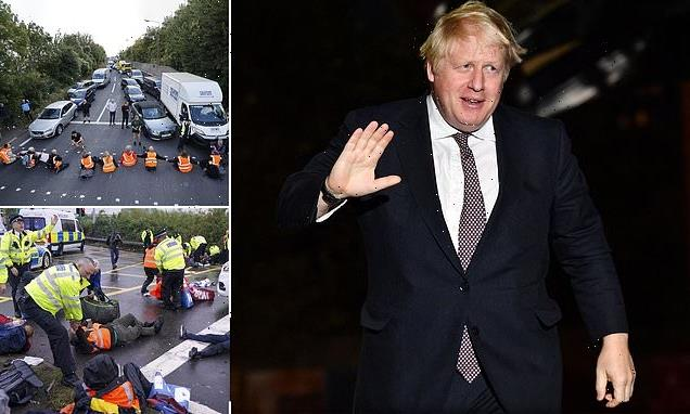 Boris Johnson threatens 'reckless' protesters with huge fines and jail
