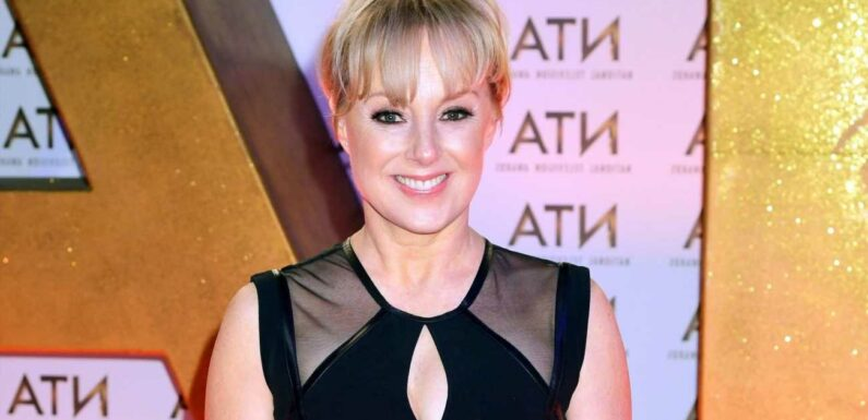 Coronation Street's Sally Dynevor straps her skates on and hits the rink after signing up to Dancing On Ice