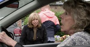 Corrie fans predict Audrey crash horror in 'blindness' plot with Rita in danger