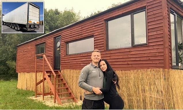 Couple transform their 44-foot lorry trailer into an off-grid HOUSE