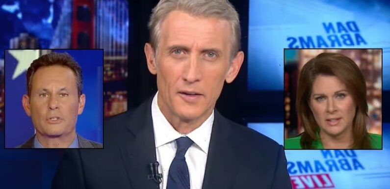 Dan Abrams Mocks CNN, Fox News Dueling Vaccine Mandate Coverage