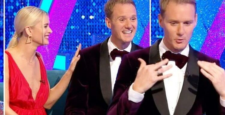 Dan Walker fights tears over daughters adorable reaction to Strictly debut