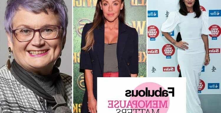 Davina McCall and Michelle Heaton lead celeb and MP backing for Sun menopause campaign