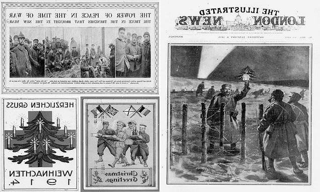 Diaries of German soldiers recount WWI Christmas truce