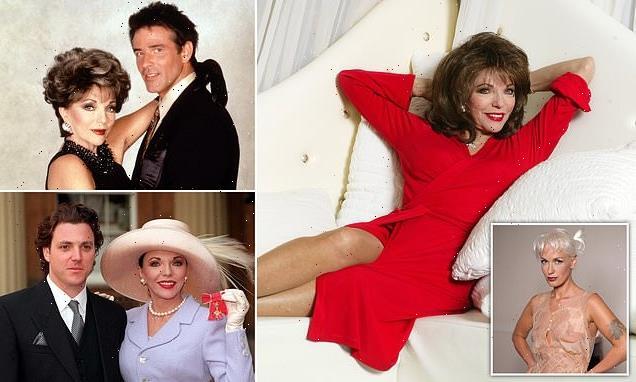 Diaries of a devilish diva: JOAN COLLINS lifts the lid on showbiz pals