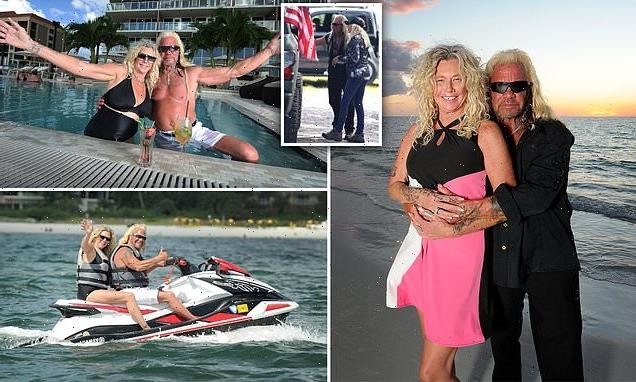 Dog the Bounty Hunter and wife cut honeymoon short for Laundrie search