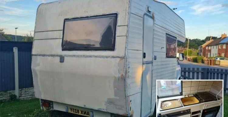 Dumped man sells old campervan on eBay because 'slab of misery on wheels' is a reminder of his 'terrible' relationship