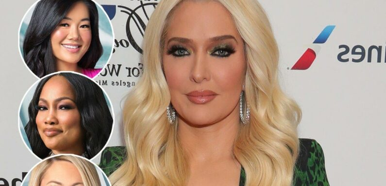 Erika Jayne Slams Sutton and Garcelle's Fear of Being 'Implicated' in Her Legal Drama: 'Pure Fiction'