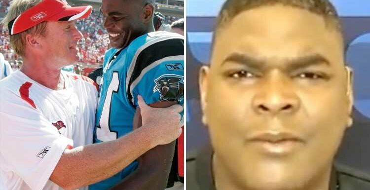 Ex-NFL star Keyshawn Johnson slams ousted Raiders coach Jon Gruden as a 'used car salesman' after email scandal