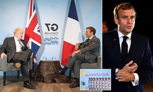 France 'stole' five million AstraZeneca vaccine doses destined for UK
