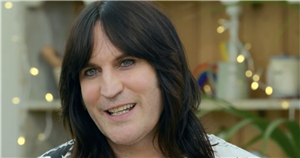GBBO fans go wild over Noel Fielding's 'Where's Wally?' outfit as he wears iconic striped jumper