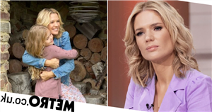 GMB's Charlotte Hawkins reunites with daughter after battling Covid