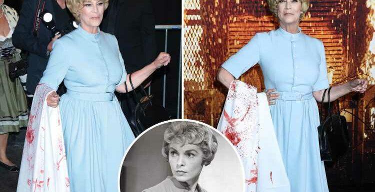 Halloween Kills star Jamie Lee Curtis looks spookily like mum Janet Leigh in 1960 horror Psycho