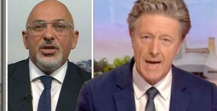 'I don't understand what you're saying!' Charlie Stayt loses patience as Zahawi nods along
