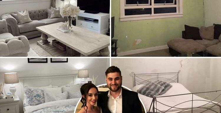 I was on benefits & homeless when I got my 'dirty' council flat but I've transformed it on the cheap
