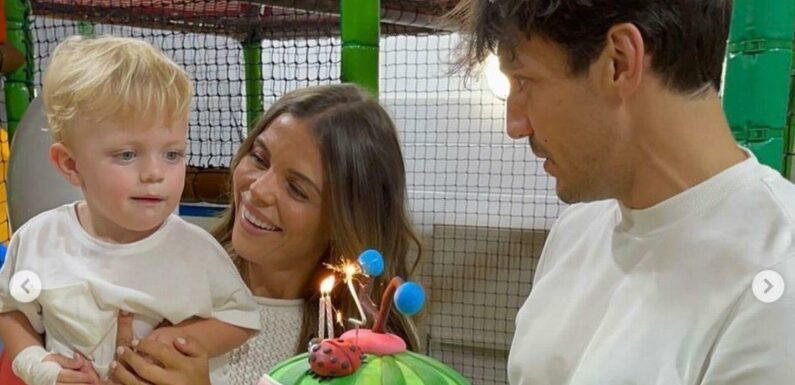 Inside Chloe Lewis' fun-filled birthday celebrations as her son Beau turns two