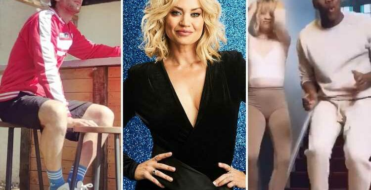 Inside Kimberly Wyatt's spotless Surrey home with outdoor bar and dance studio as she signs up for Dancing On Ice