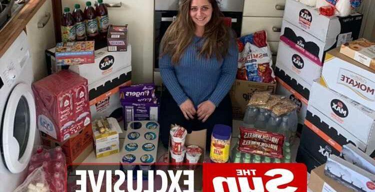 I've spent £2k stockpiling for Christmas – I'm £1k in debt & got 200 loo rolls, people who aren't doing it are bonkers