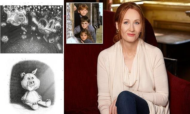 JK Rowling is back with her new book The Christmas Pig