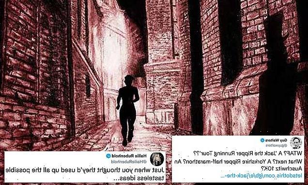 Jack the Ripper 'running tour' is branded 'tasteless'