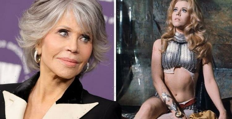 Jane Fonda, 83, stopped 'caring how she looked' after iconic performance in Barbarella