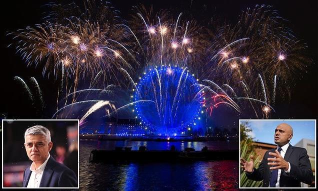 Javid slams Khan over decision to axe London's NYE firework display