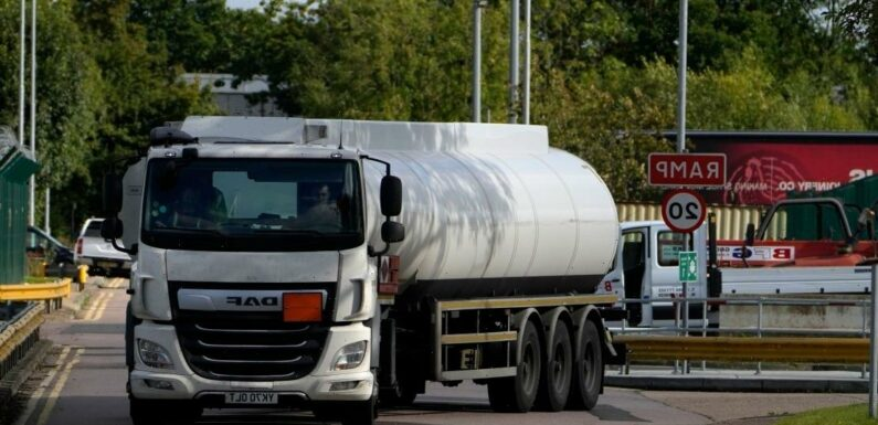Just 27 EU truckers applied to work in UK under Gov's emergency scheme to tackle fuel crisis