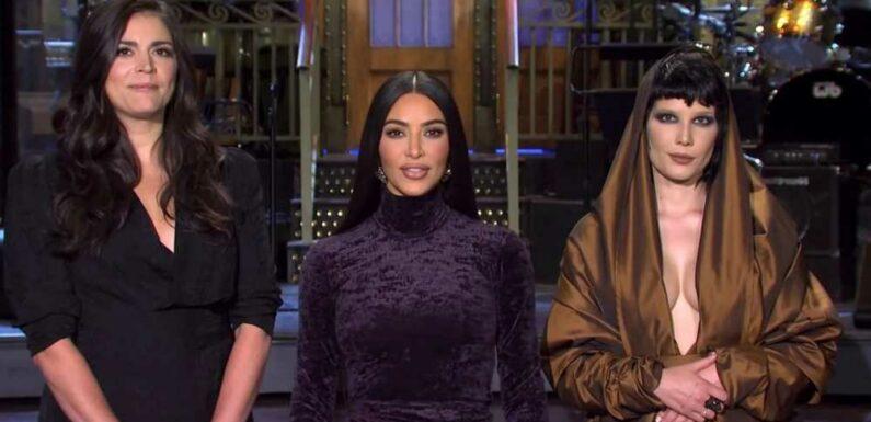 Kim Kardashian Says 'SNL' Will Be 'So Easy,' Uses Married Name in Promo