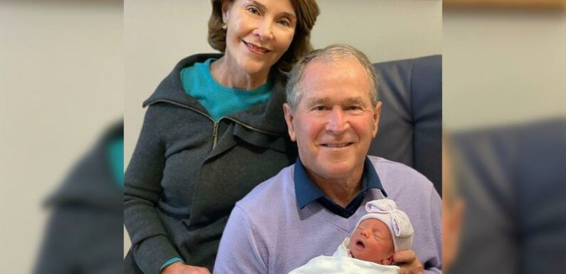 Laura Bush Hopes Premature Granddaughter Cora Will Be Out of NICU 'Pretty Soon'