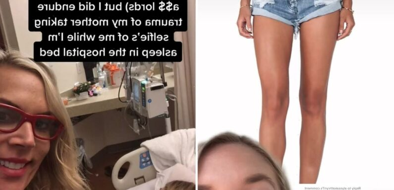 My high-cut shorts nearly killed me after chub-rub caused deadly sepsis – I only wore them to look good on a first date