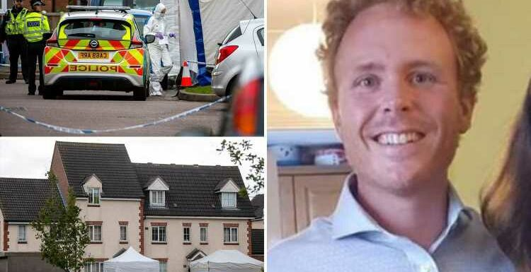 Neighbour 'stabbed dad-of-three to death, knifed his wife and left another neighbour fighting for life in attack'