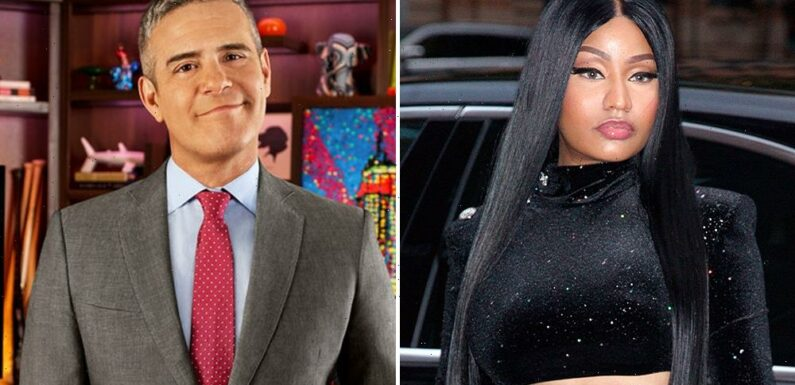 Nicki Minaj Actually Did Help Andy Cohen Host The Real Housewives of Potomac Reunion